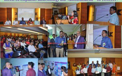 "10 ICMR sponsored National Seminar on ""Recent Developments Biotechnology and Nanobiomedicine"""