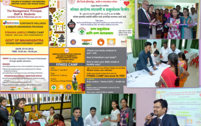 4 Fitness Camp and Health Checkup camp 7.1.2019
